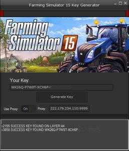 Klucz do Farming Simulator 15