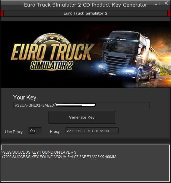 Euro Truck Simulator 2 Generator Kluczy