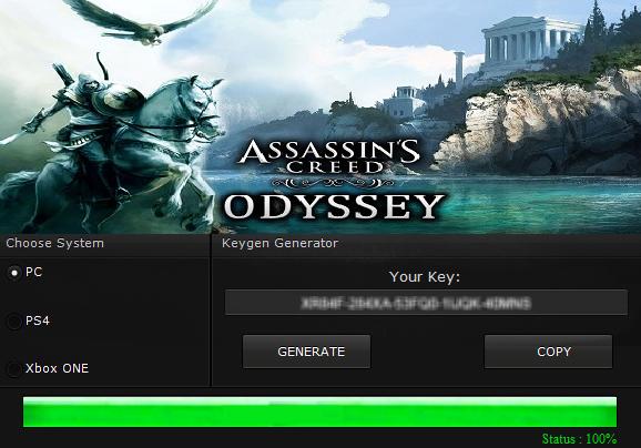 Crack do Assassins Creed Odyssey