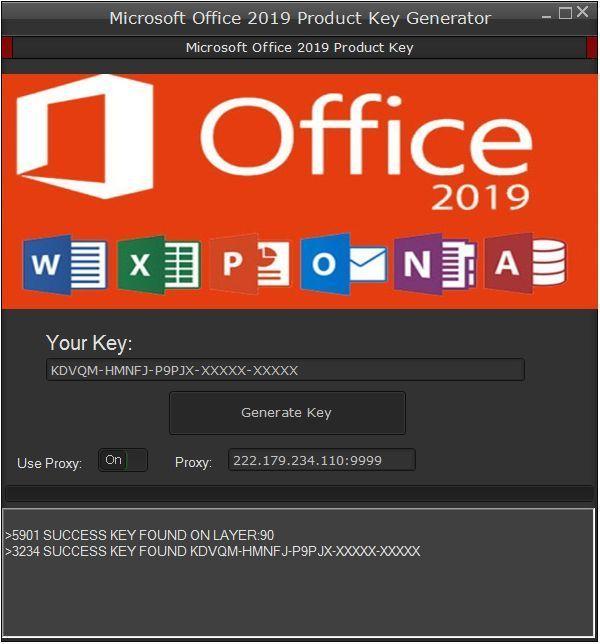 Klucz do Microsoft Office 2019
