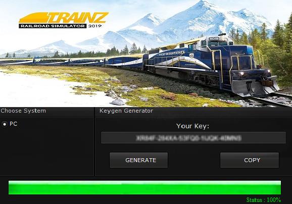 Klucz do Trainz Railroad Simulator 2019