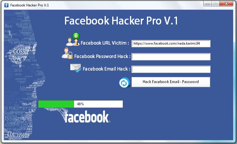Facebook Hacker Pro